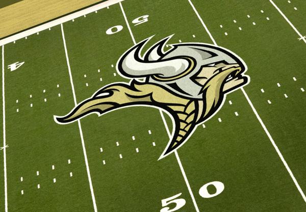 Minnesota Vikings Rebrand Concept, by Dane Storrusten