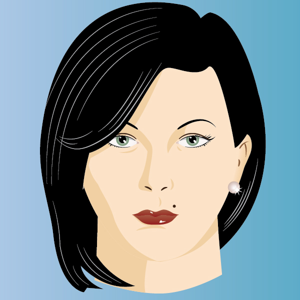 Modeling the Human Face, tutorial by Iaroslav Lazunov