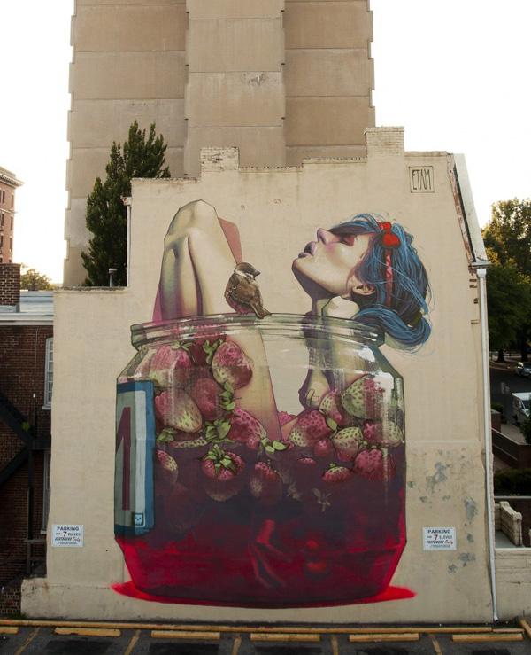 Murals by Etam Cru
