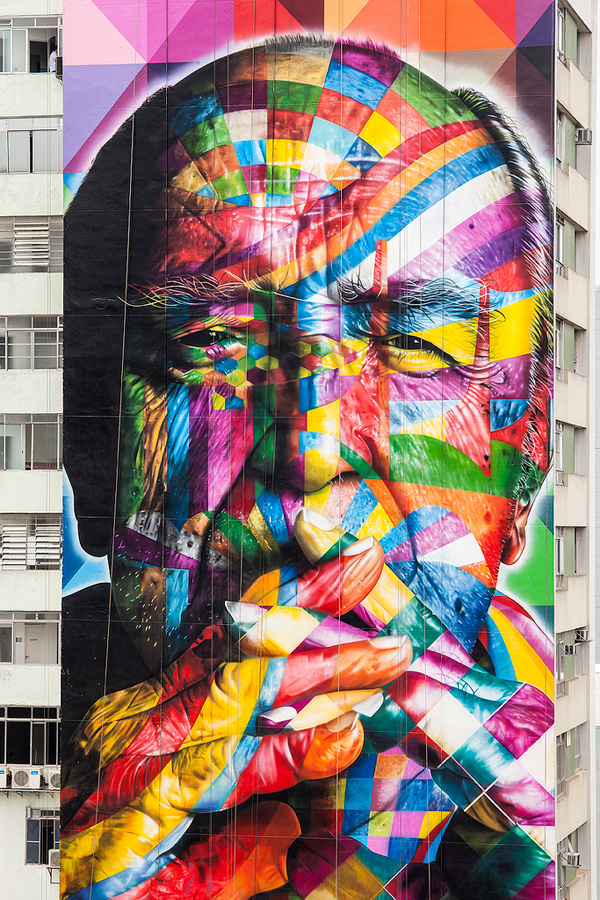 Mural Designs by Eduardo Kobra