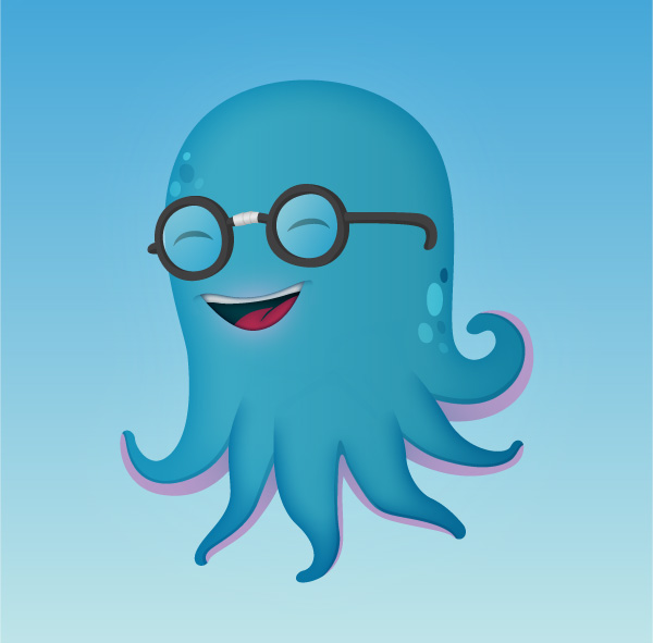 How to Illustrate a Cute Little Octopus Mascot, by Chapolito
