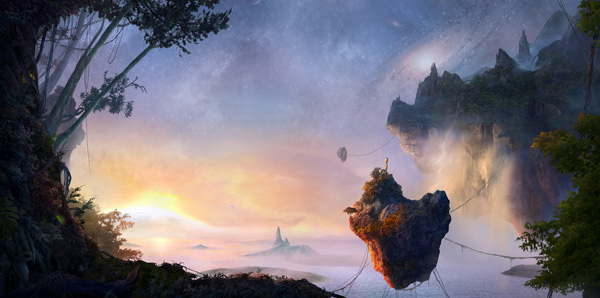 Create an Incredible Avatar Inspired Matte Painting of Pandora, by Stas Lobachev