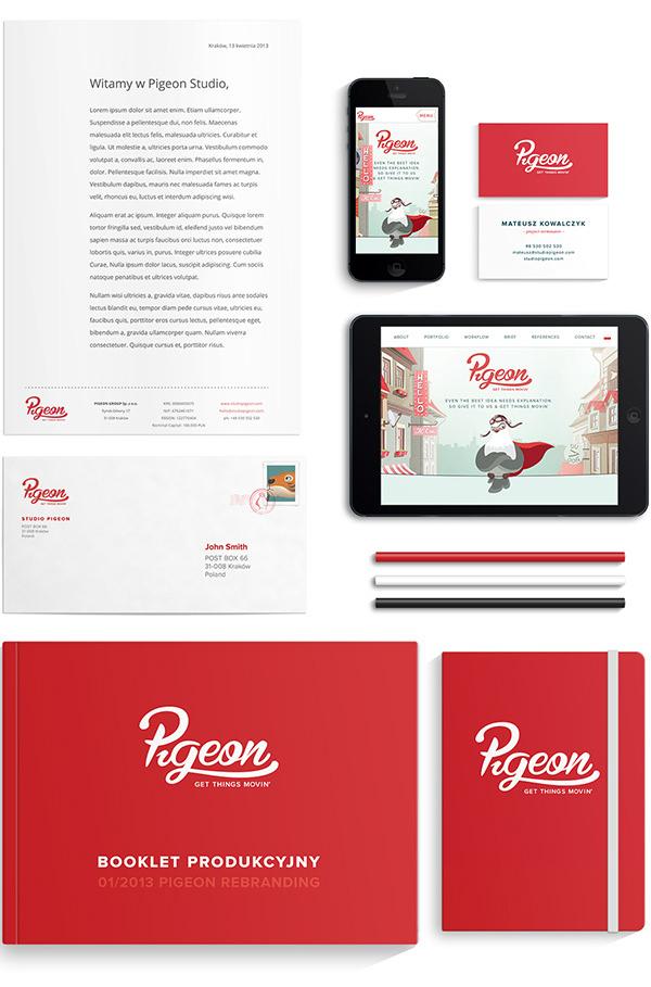 Pigeon Rebranding, by Studio Pigeon