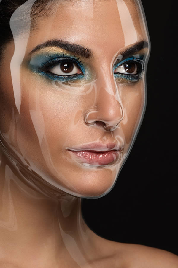 How to Apply a Plastic Mask Effect to a Portrait by Stefka Pavlova