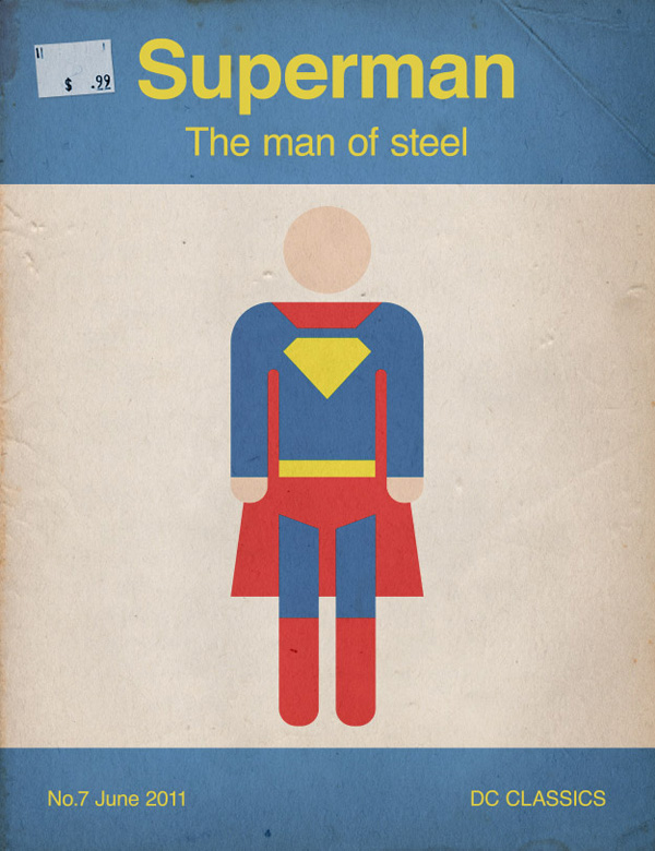 How To Create a Retro Style Superman Book Cover, by Chris Spooner