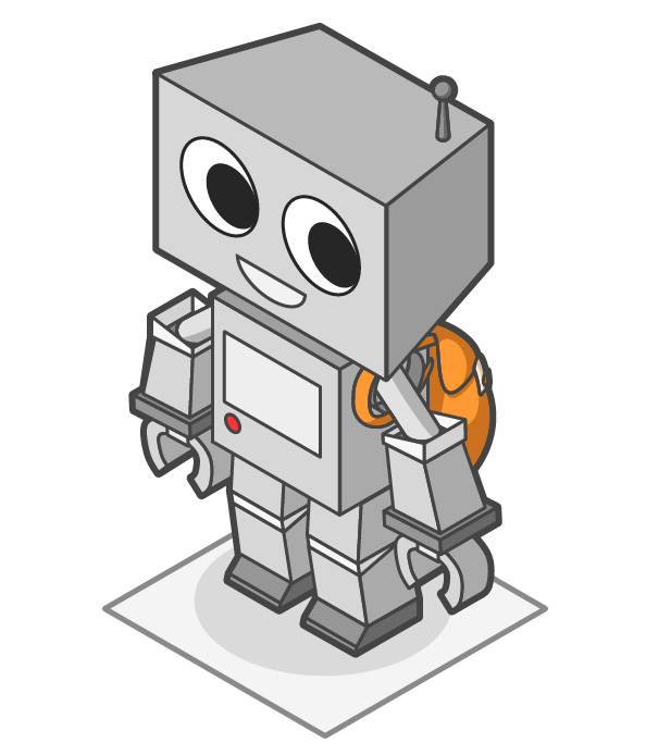 How to Create a Cute Robot Game Sprite using SSR in Adobe Illustrator, by Michelle Todd