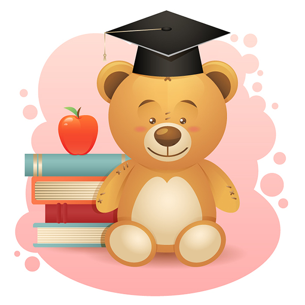 Create a Simple School Teddy Bear in Adobe Illustrator, by Yulia Sokolova