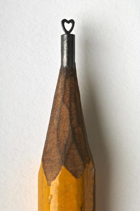 Dalton Ghetti, at the Lori Warner Gallery: Graphite Sculptures on the Pencil Tip