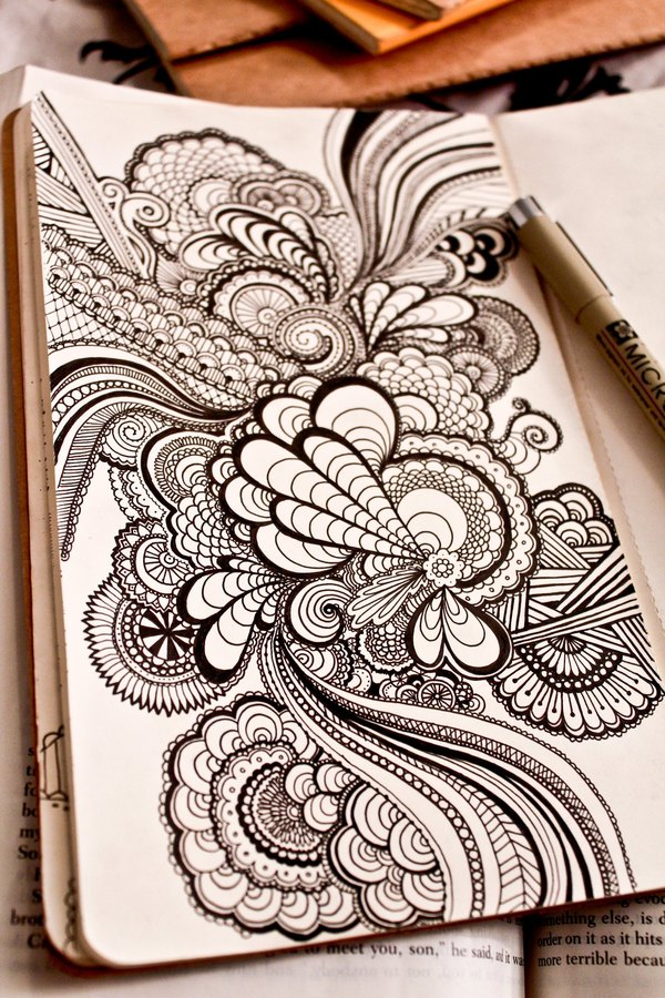 Sketchbook Doodles, by Danielle Aldrich