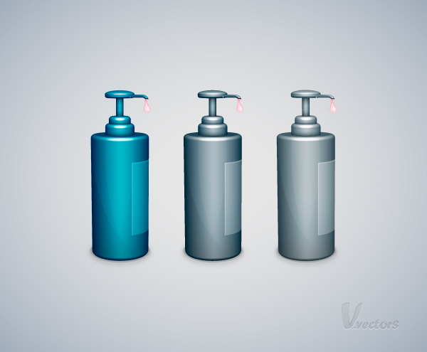 How to Create a Liquid Soap Bottle Vector Illustration, by Andrei Marius