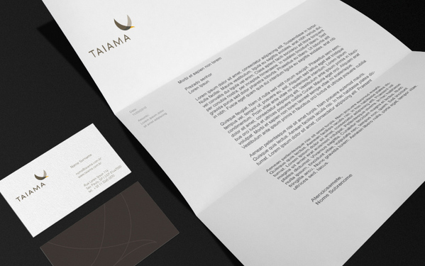 Corporate and Brand Identity: Taiama by Roger Oddone