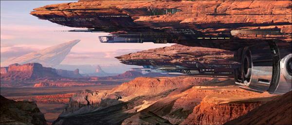 "Matte Painting Tutorial ""The Alien Civilization"" by Eric Dima-ala"