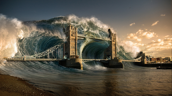 Create a Devastating Tidal Wave in Photoshop, by Ed Lopez