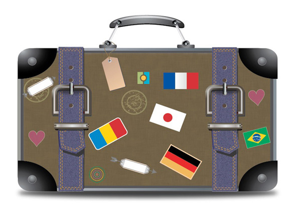 Learn To Make A Wonderful Vector Travel Suitcase In Illustrator by Shaina