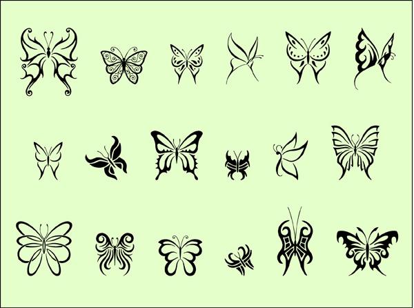 tribal-butterflies