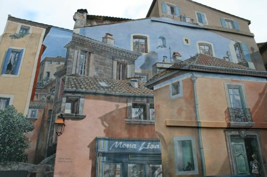 Tromp l'oeil Mural at Agde, France