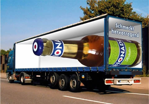 Bionade Truck Wrap