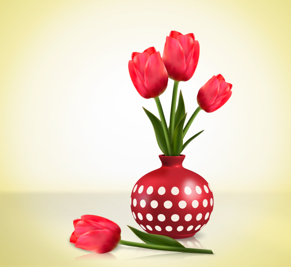 Create Detailed Tulips With Gradient Mesh, Without the Mesh Tool in Illustrator, by Diana Toma