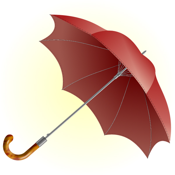 Use a Basic Polygon, 3D Rotate & Gradients to Illustrate an Umbrella by Alexander Egupov