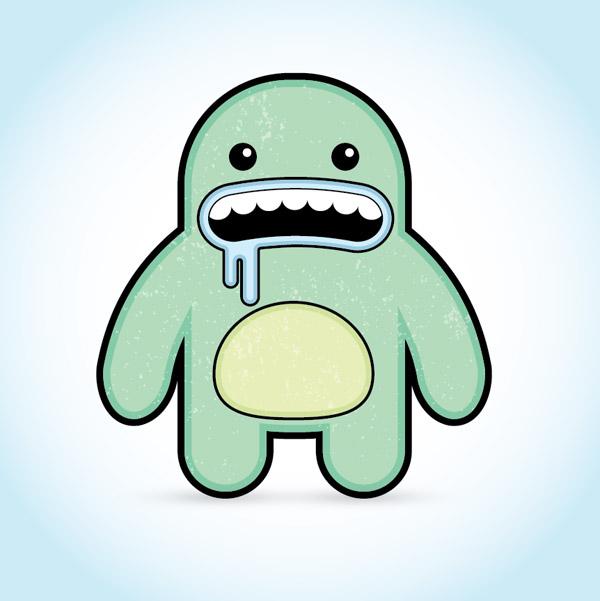 Fun Vector Monster Character Illustrator Tutorial, by Chris Spooner