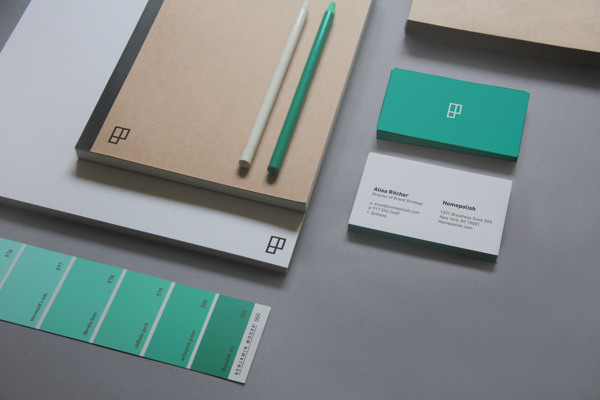 Homepolish - Visual Identity, by Leo Porto